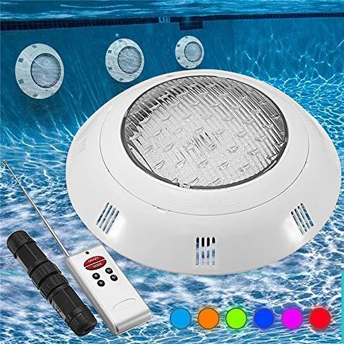 ACDGS 18W RGB LED Schwimmbad Licht Unterwasser wasserdichte Fernbedienung Wand Nachtlicht ACDGS -
