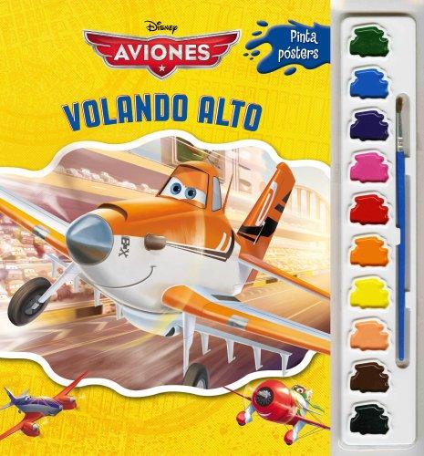 Aviones. Pinta pósters con acuarelas: Volando alto
