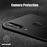 #7: SmartLike Perfect Fitting Ultra Light Slim Shockproof Silicone TPU [Anti Slip] [Scratch Resistant] Protective Case Cover 4 SIDE PROTECTION Back Cover for Huawei P20 lite/Nova 3e - BLACK
