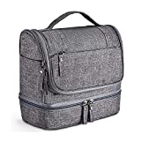 Egab Toiletry Organizer Bag Hanging Travel Toiletry Organizer Kit with Hook and Handle