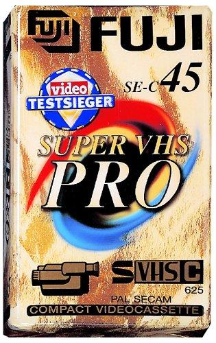 Fuji S-VHS-C EC 45min VHS-C-Videokassette