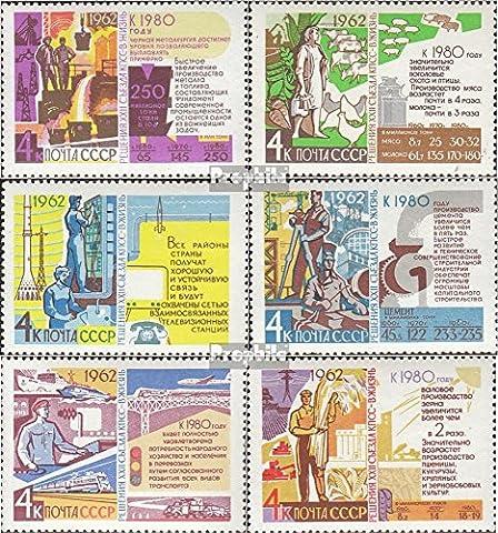 Soviétique-Union 2695-2700 (complète.Edition.) neuf avec gomme originale 1962 parti le