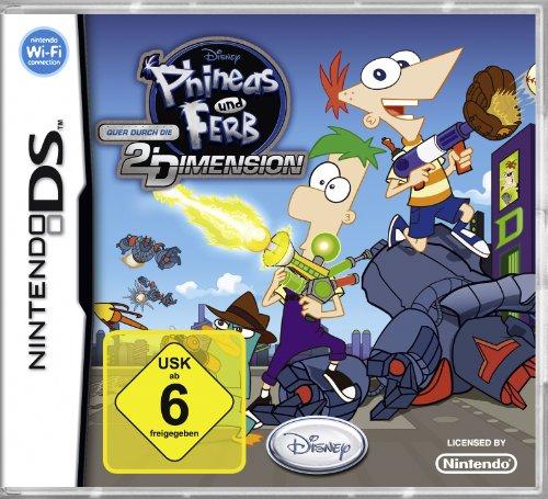 Phineas und Ferb - Quer durch die 2. Dimension [Software Pyramide] - [Nintendo DS] (Nintendo Ds Phineas Und Ferb)