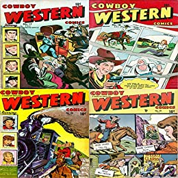Cowboy Western. Issues 17, 18, 19 and 20. Jesse James, Annie ...