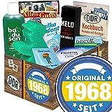 Original seit 1968 | DDR Geschenkbox | mit Florena Creme, Elka Dent, Badusan und mehr | GRATIS Aufkleber - Original seit 1968