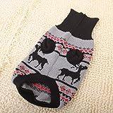 Generic Turtleneck Acrylic Wool Pet Puppy Dog Sweater - Size M Black