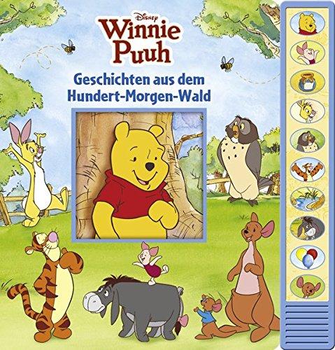 Winnie Puuh - Geschichten aus dem Hudert-Morgen-Wald: Vorlese-Pappbilderbuch mit 10 Melodien - Kinderlieder