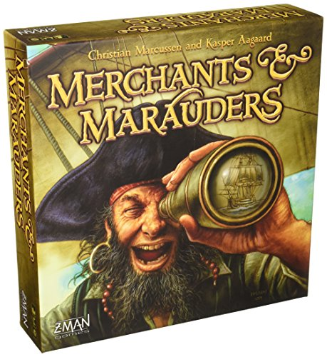 Z-Man Games ZMG7062 - Merchants and Marauders Brettspiel, Englisch (Zman Games)