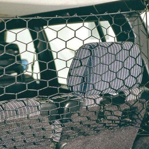 Auto Sicherheitsnetz Hunde Netz für das Auto -Schwarz -für alle PKW Modelle
