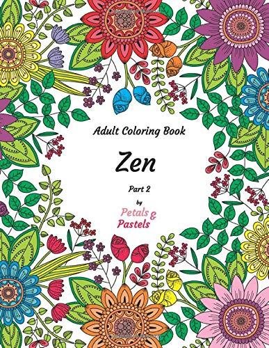 Adult Coloring Book - Zen - Part 2 (2019 Halloween De Pasteles)