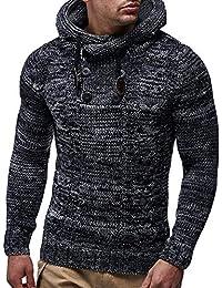 ALIKEEY Rebeca De Punto para Hombres Otoño - Invierno Pullover Hooded Sweater Chaqueta Outwear Abrigo Blanca Beisbol Divertidas Camuflaje