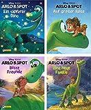 4er Disney/Pixar Arlo und Spot 1-4 (Nelson Mini-Bücher)