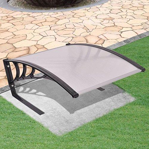 Garagendach für Mähroboter 77x103x46 cm Mähroboterzubehör Farbe: Schwarz und Silber