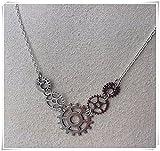 Gear Pendant Necklace