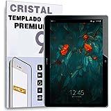 "REY Protector de Pantalla para Huawei MEDIAPAD T3 10 9.6"", Cristal Vidrio Templado Premium"