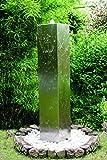 KÖHKO Gartenbrunnen Tower Höhe 150 cm 26001 Springbrunnen mit PE-Becken