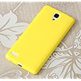 "Prevoa ® 丨 Silicona Funda Cover Caso Para Xiaomi red rice NOTE / Redmi NOTE 5.5 "" Smartphone - Amarillo"