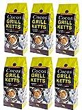Cocos Grillketts Premium Grillbriketts aus Kokos-Kohle - 18 kg - Extra Lange Brenndauer - Ideal für Dutch Oven, Smoker und Kugelgrill