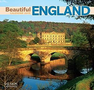 Beautiful England Large Wall Calendar 2015