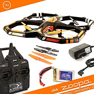 Acme – zoopa Q 650 Razor Quadro – Lovely For Outdoor 2.4GHz 150 M Range (ZQ0660 | Light Switch 360 ° Flip 3 Speeds)