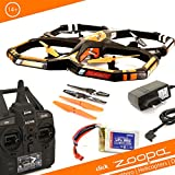 ACME - zoopa Q 650 razor Quadrocopter | incl. 2.4 gHz Remote control |360 degree flipfunction | gyro-system (ZQ0660)