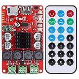 Drahtloses Audioempfänger Brett, TPA3116 Stereo 2 x 50W Bluetooth Audio Receiver Verstärker mit Fernbedienung Unterstützt die Dekodierung im FLAC-, WAV-, MP3- und WMA-Format DC 8-26V