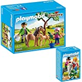 playmobil 7996 3 poulains de chevaux dans un emballage plastique pas de boite. Black Bedroom Furniture Sets. Home Design Ideas