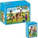 PLAYMOBIL® Country 2er Set 6949 6950 Ponymama mit Fohlen + Spaziergang mit Pony