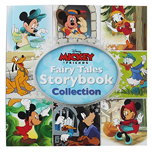 Disney Mickey and Friends Fairy Tales Storybook Collection por Parragon Books Ltd