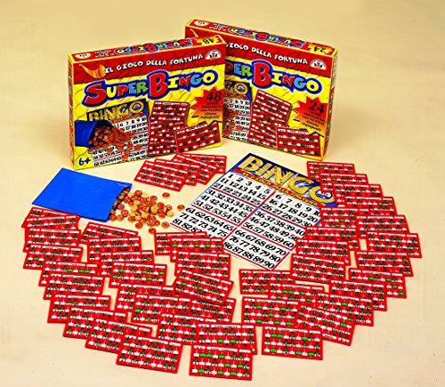 EDIZIONE MARCA STELL- Super Bingo 24 Cartelle, Multicolore, 86010.26