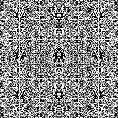 Alu-Dibond-Bild 60 x 40 cm: 'Dunkler Rokoko', Bild auf Alu-Dibond (gekachelt)