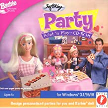 Barbie Party Print And Play