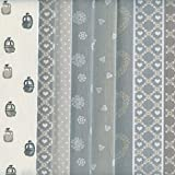Textiles français Stoffpak - Stoffpaket (Alpen - Natur) |