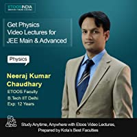 ETOOSINDIA Complete Physics Video Lectures for JEE Main & Advanced by NKC Sir(2 year Validity)