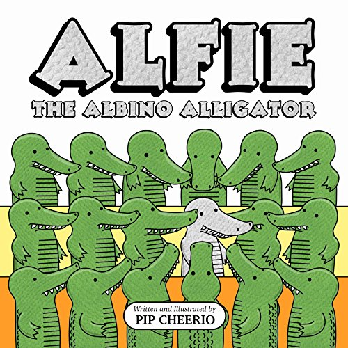 alfie-the-albino-alligator-english-edition