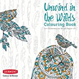 Derwent Colouring Book, Unwind in the Wilds, Professional Quality, Colour & Relax, 2302338