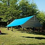 Airand Zeltplane Tragbare Leichte Camping Zelt Tarp Wasserdichte Markise 3 x 3m