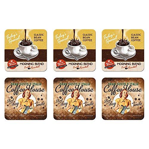 coaster-set-of-6-diner-coffee-und-chocolate