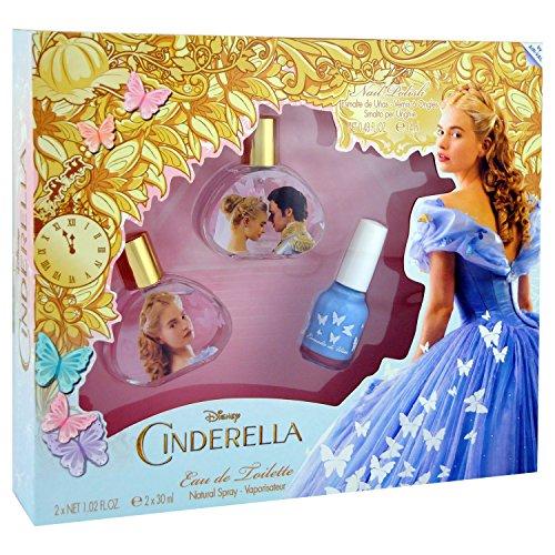 Disney Cinderella Geschenkset (2 x Eau de Toilette je 30ml + Nagellack)