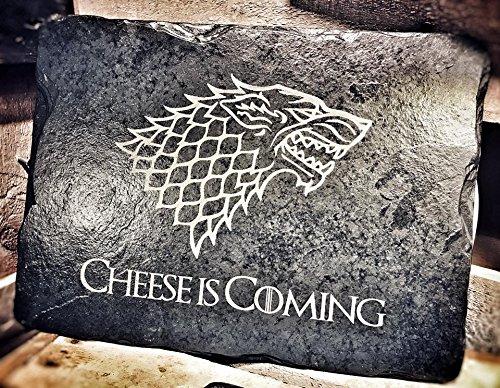 Motif Game of Thrones Set de table Ardoise/Cheesboard/plat de service – Idée cadeau pour les fans de Got