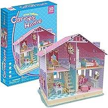 Cubic Fun p679h–3d Puzzle La Casa de Muñecas la casa de Carrie 4habitaciones