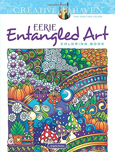Download PDF Creative Haven Eerie Entangled Art Coloring Book (Adult ...