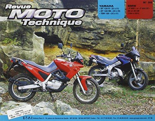 Revue moto technique : N° 96, Yamaha DT 125 R RE, TDR 125 et BMW F 650