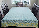 #7: Cocobee 6 Seater Elegant Print Dining TableCloth