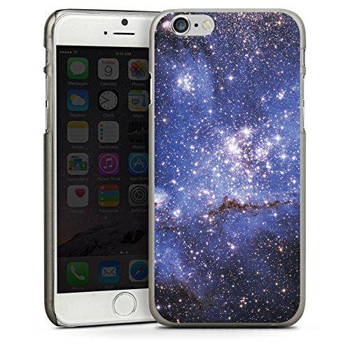 Apple iPhone 5 Housse Étui Silicone Coque Protection Galaxie Motif Motif CasDur anthracite clair