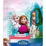 Blister libreta boligrafo Frozen Disney