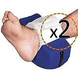 OrtoPrime Talloniere Antidecubito Impermeabili Curve Confezione da 2 - Protezione per tallone antidecubito - Cuscini Ortopedi
