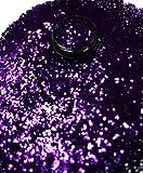 online-hut 1 Döschen Glitterpailetten 1mm Purple