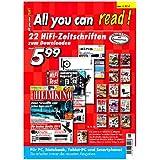 All You can read! - 22 aktuelle HiFi-Zeitschriften zum Downloaden