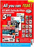 All You can read! - 22 aktuelle HiFi-Zeitschriften zum Downloaden medium image